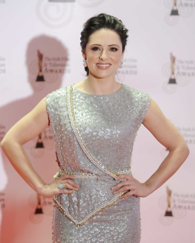 12/02/2011. IFTA's. Grainne Seoige pictured at the