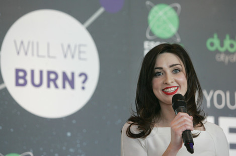 26/1/2012. Launch of Dublin City Of Science