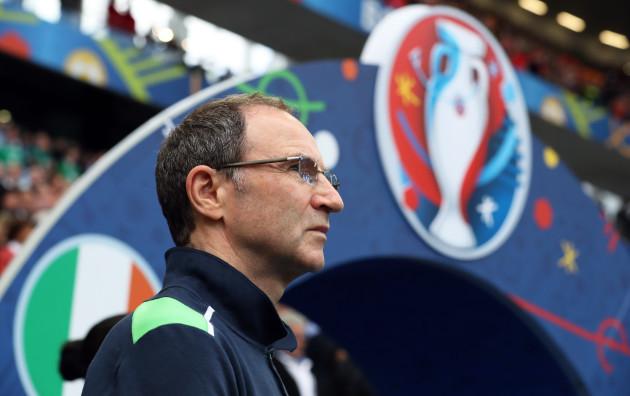 Republic of Ireland v Belgium - UEFA Euro 2016 - Group E - Stade de Bordeaux