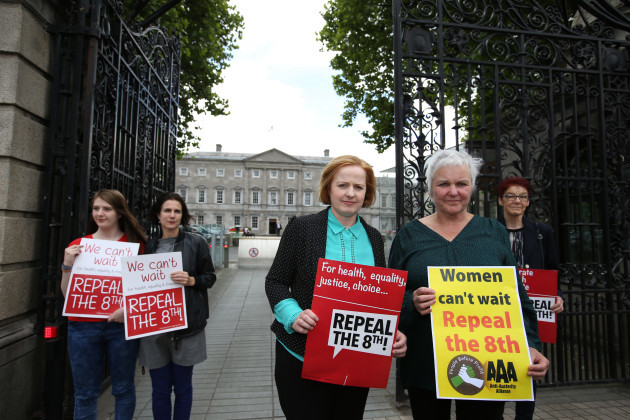 21/06/2016. AAA - Repeal the 8th. Pictured (LtoR)