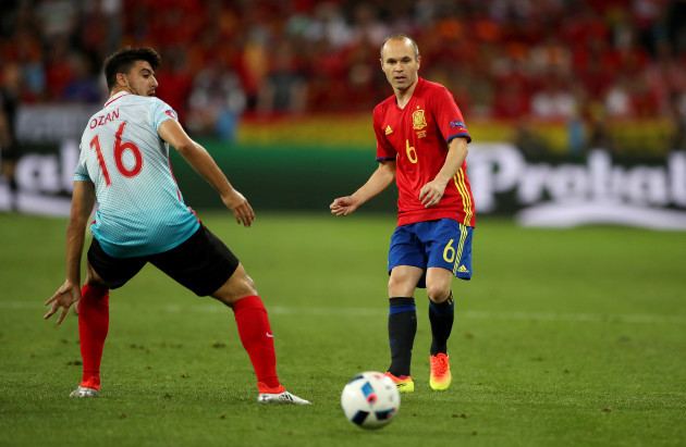 Spain v Turkey - UEFA Euro 2016 - Group D - Stade de Nice