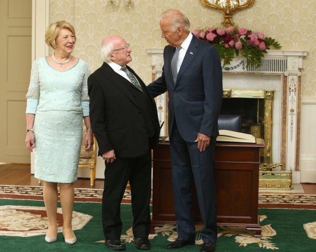 22/6/2016. Joe Biden Visits Ireland