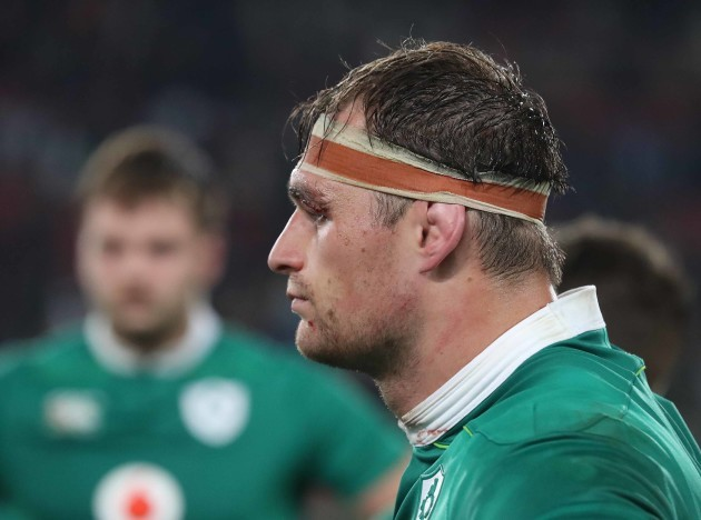 Ireland's Rhys Ruddock