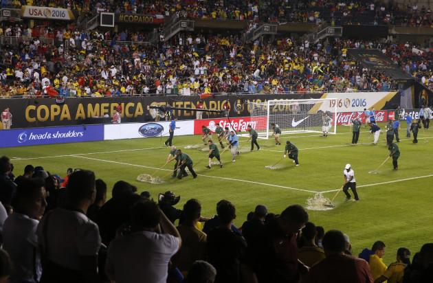 Copa America Centenario Chile Colombia Soccer