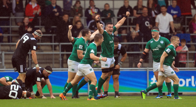 New Zealand v Ireland - 2016 Rugby Union Under 20's World Championship - City Academy Stadium