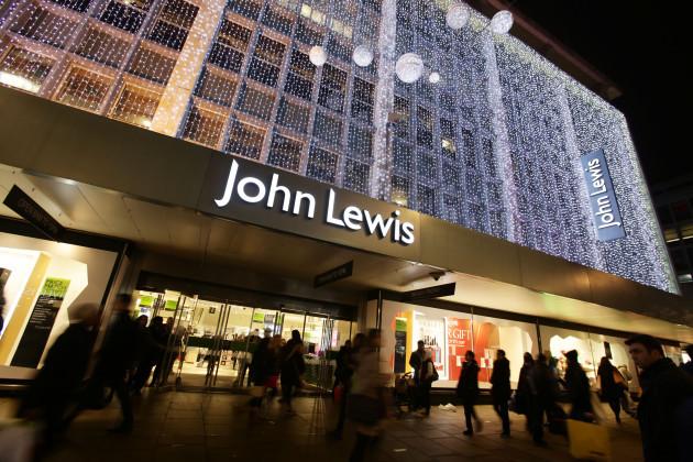 John Lewis sees festive sales leap online
