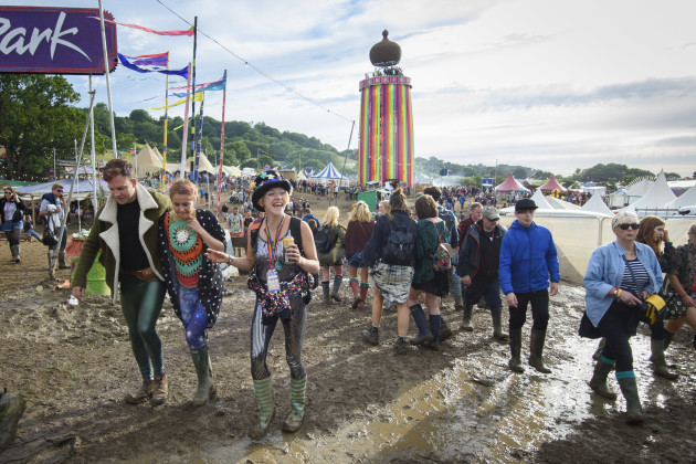 Glastonbury Festival 2016 - Preparations