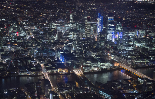 Aerial City Views - London