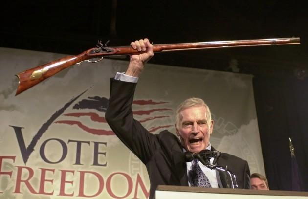 Divided America Guns