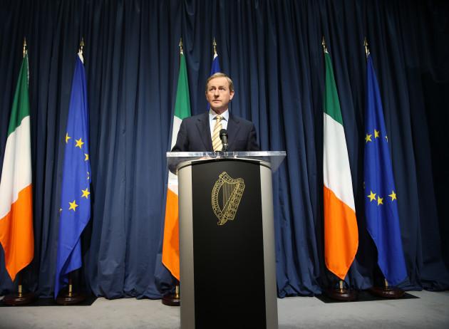 24/6/2016 UK leaves the EU. The Irish and European