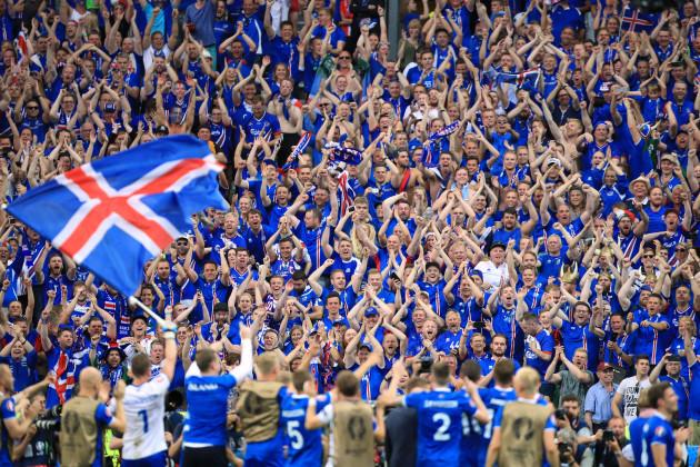 Iceland v Austria - UEFA Euro 2016 - Group F - Saint-Denis