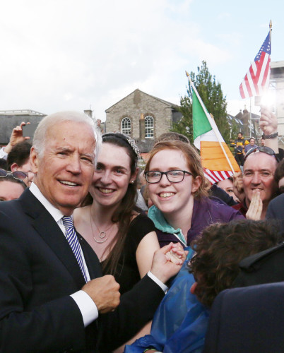 24/6/2016 Biden Visit. The Vice President of Ameri