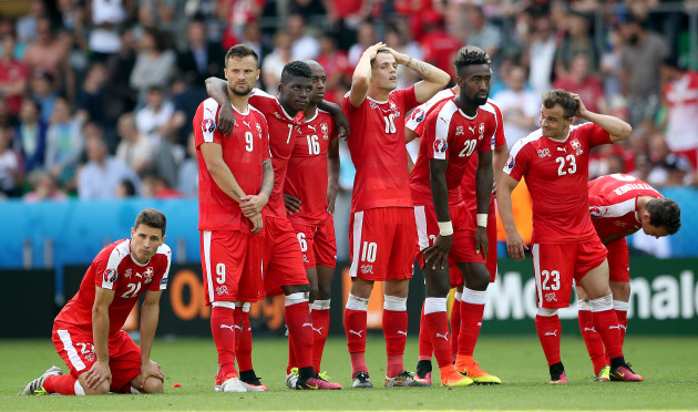Switzerland v Poland - UEFA Euro 2016 - Round of 16 - Stade Geoffroy-Guichard