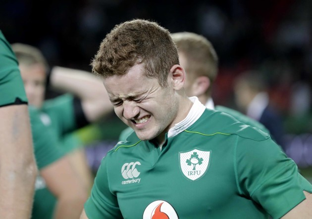 Paddy Jackson dejected