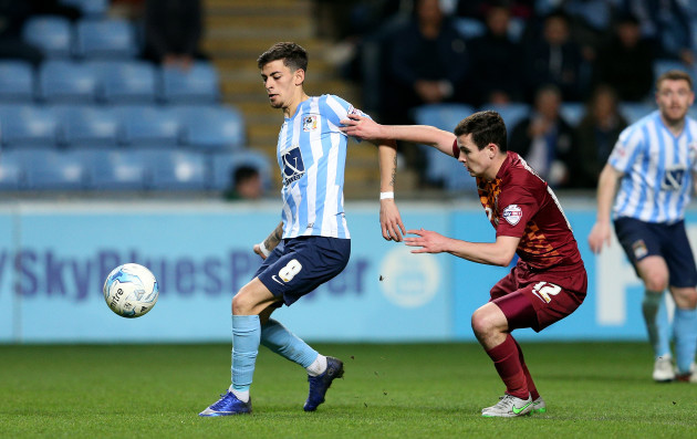 Coventry City v Bradford City - Sky Bet League One - Ricoh Arena