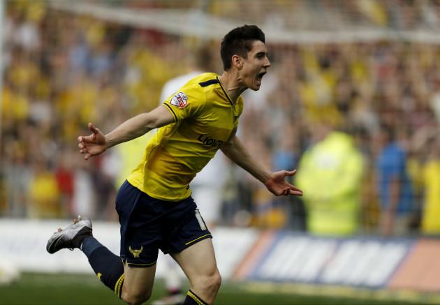 Oxford United v Wycombe Wanderers - Sky Bet League Two - Kassam Stadium