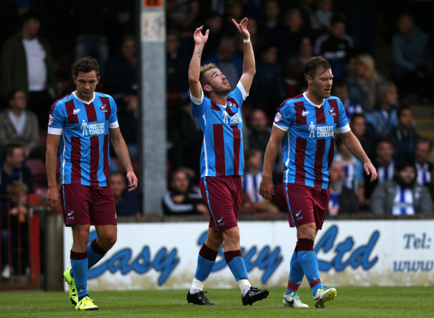 Soccer - Pre Season Friendly - Scunthorpe United v Sheffield Wednesday - Glanford Park