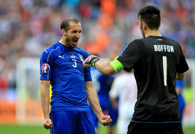 Italy v Spain - UEFA Euro 2016 - Round of 16 - Stade de France