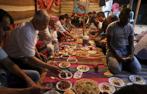 Mideast Palestinians Ramadan