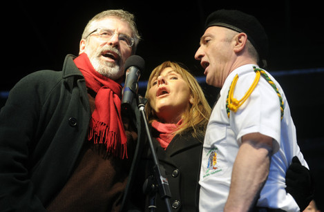 30/1/2011. Bloody Sunday Commemorations Protests