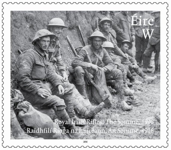 Battle of the Somme Stamp