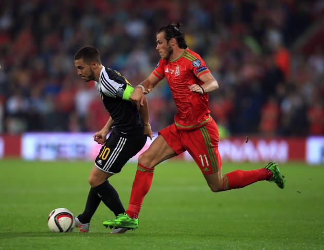 Soccer - UEFA Euro 2016 - Qualifying - Group B - Wales v Belgium - Cardiff City Stadium