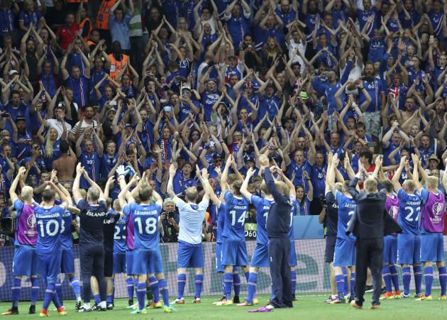 England v Iceland - UEFA Euro 2016 - Round of 16 - Stade de Nice