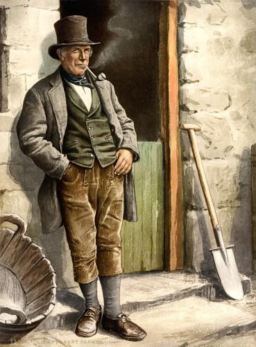 Irish_peasant_farmer_smoking_pipe,_1890s