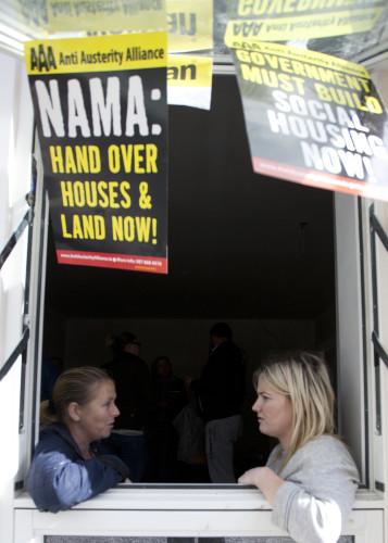22/9/2015. Homeless Famlies Take Over Nama Propert