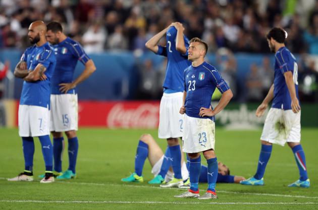 Soccer Euro 2016 Germany Italy