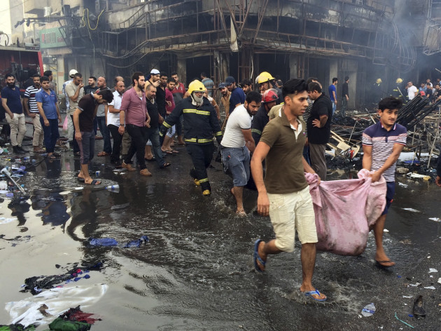 Mideast Iraq Bombing