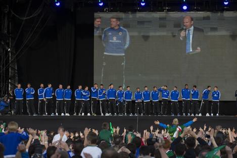 Northern Ireland Homecoming - UEFA Euro 2016 - Belsonic Fan Zone