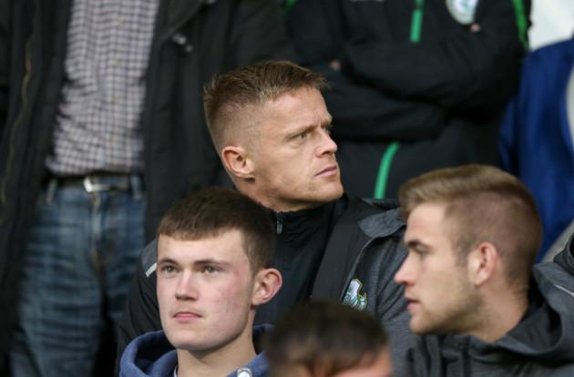 Soccer - UEFA Europa League - Second Round Qualifying - First Leg - Shamrock Rovers v Odds BK - Tallaght Stadium