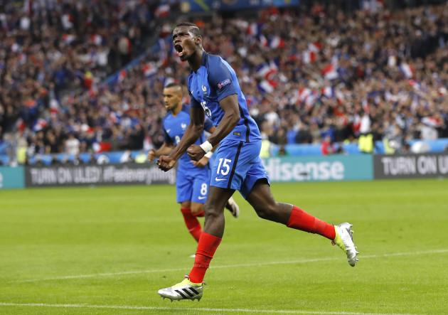 Soccer Euro 2016 France Iceland