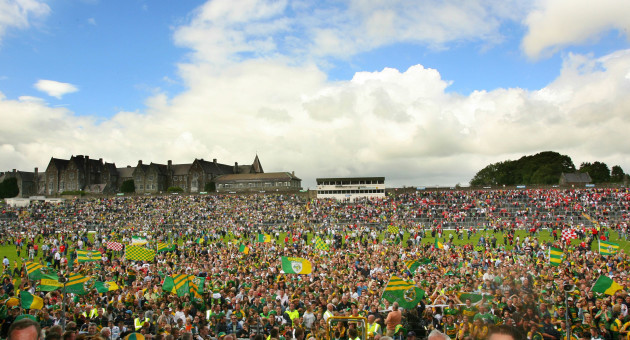 General view of the Kerry fans