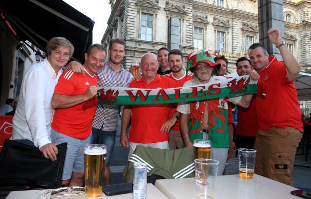 Wales - UEFA Euro 2016 - Wales Fans- 5th July