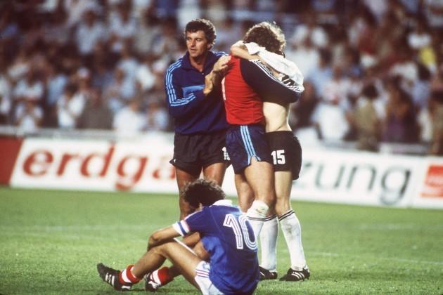 Soccer - World Cup Spain 82 - Semi Final - West Germany v France