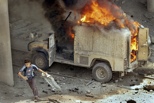 Mideast Iraq British Troops