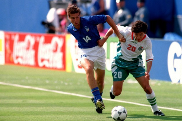 Empics5, Italy v Bulgaria .... Soccer World Cup 94