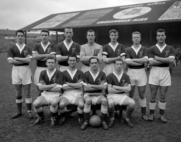 Soccer - The World Cup 1958 - Eliminator Matches - Second Leg - Wales v Israel - Ninian Park - Cardiff - 1958