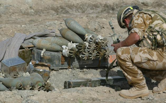 British Forces in Iraq.