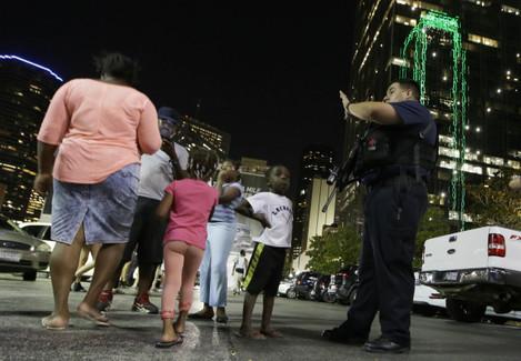 Police Shootings Protests Dallas