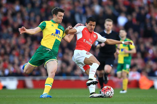 Arsenal v Norwich City - Barclays Premier League - Emirates Stadium