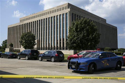Michigan Courthouse-Shooting