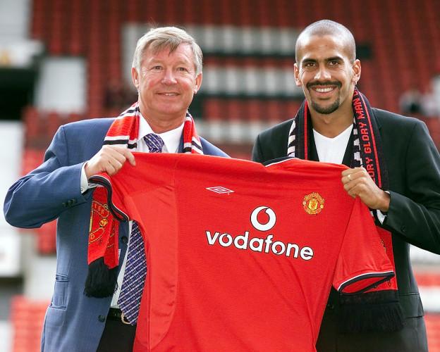 Man Utd Veron signing