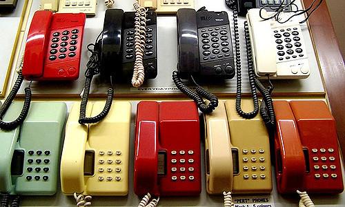Push Button Phones