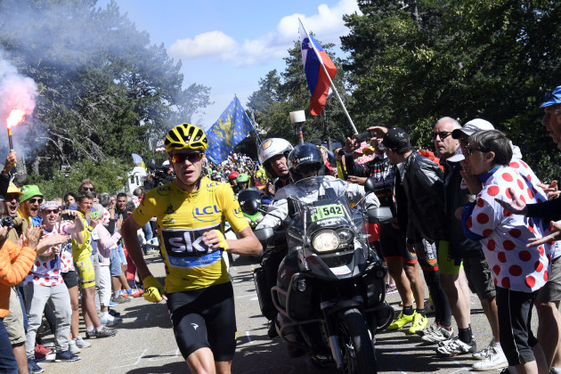 Tour de France 2016 - Stage 12 - Montpellier to Mont Ventoux