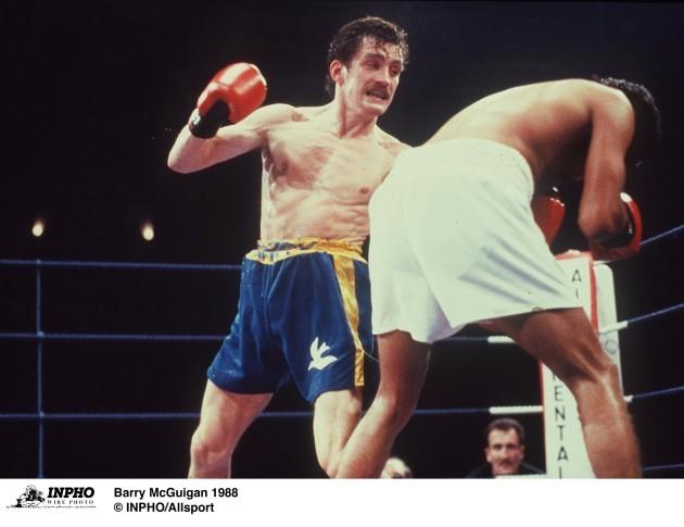 Barry McGuigan 1988