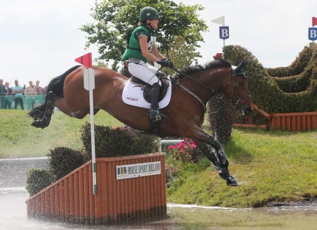 Camilla Speirs on Loughnavertta Ceder