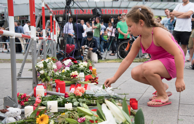 Germany Munich Shooting